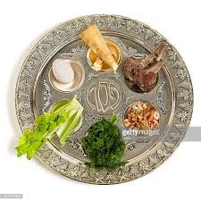 seder plate ingredients seder plate stock photos and pictures getty images
