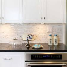 white cabinets with black countertops and backsplash 96 amazing backsplash design ideas for granite countertops
