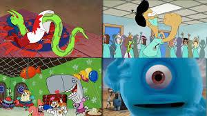 wobbly monsters aliens spongebob sanjay u0026 craig penguins