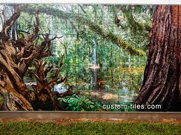 Kitchen Tile Murals Tile Art Backsplashes by Custom Tile Custom Tile And Tile Murals