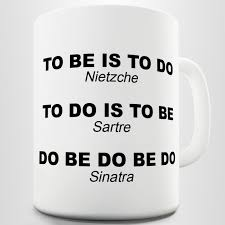 amazon com nietzche sartre sinatra funny quote coffee mug