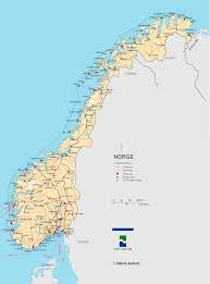 Norway World Map by Norway Map