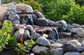 Homemade Backyard Waterfalls by Building Backyard Waterfalls Backyard And Yard Design For Village
