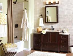 modern bathroom with towel display cabinet decor myohomes