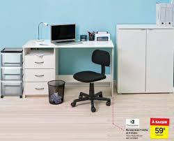 carrefour bureau carrefour promotion bureau avec 1 niche et 3 tiroirs demeyere