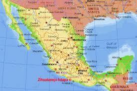 zihuatanejo map s v espiritu diary of a wimpy cruiser las hadas to zihuatanejo