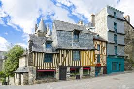 French Chateau Style Homes by Medieval French Houses Brittany Style Of Houses Colorful