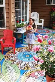 Outdoor Floor Painting Ideas Best 25 Painted Porch Floors Ideas On Pinterest Paint Concrete