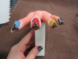 star trek the best nails i u0027ve ever made nevorpurify u0027s nail art