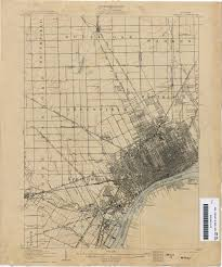 Map Of Detroit Michigan Historical Topographic Maps Perry Castañeda Map Collection Ut