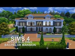 where is the bachelor mansion the sims 4 speed building bachelor mansion youtube