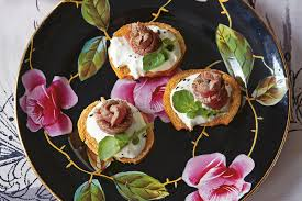 beef canape recipes beef bites with horseradish recipe epicurious com
