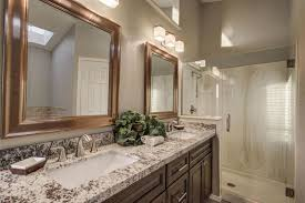 Masters Bathroom Vanity by Traditional Master Bathroom With Frameless Showerdoor U0026 Complex