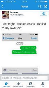 Drunk Text Meme - so drunk you text yourself meme by leonhunt memedroid