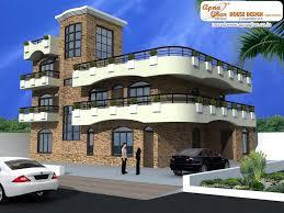 enchanting triplex house plans india contemporary best