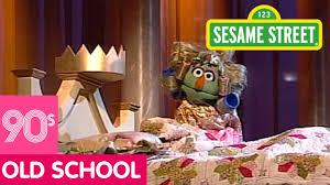 sesame street sofa sesame street princess and the pea youtube