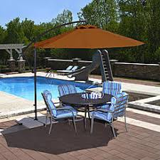 Sears Patio Umbrella Patio Umbrellas Bases Orange Sears