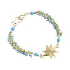 turquoise bead bracelet images Hopestar and turquoise seed bead bracelet elizabeth showers jpg