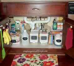 kitchen sink cabinet storage ideas the kitchen sink organizer storage ideas simple
