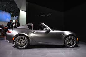 new mazda mpv 2016 2017 mazda mx 5 miata rf exclusive features revealed