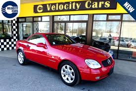 convertible mercedes red 1997 mercedes benz slk 230 convertible for sale in vancouver bc