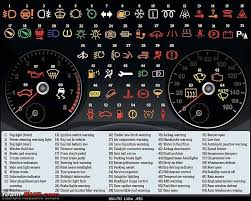 toyota dash light meanings dashboard instrument cluster warning lights what each symbol
