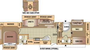 Fifth Wheel Floor Plans Front Living Room 2010 Eagle Jayco Inc
