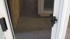 security screen doors for sliding glass doors sliding glass window w security screen white vinyl 21 11 16