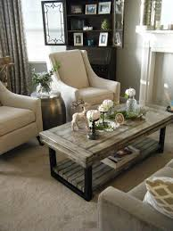 White Wash Coffee Table - coffee table metal legs farm table benches wood reclaimed