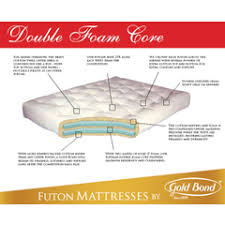 gold bond futon mattresses mattresses