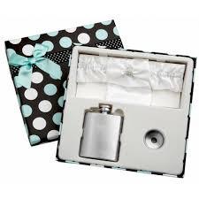 and groom flasks white wedding garter flask holder flasks
