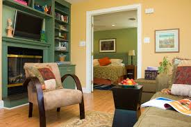 awesome living room color schemes ideas with beige wall and
