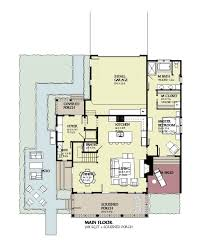 beach style house plan 4 beds 3 50 baths 3470 sq ft plan 901 124