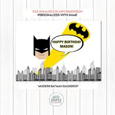 Superhero Backdrop Batman Superhero Printable Backdrop Little Dimple Designs