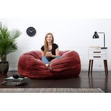 Big Bean Bag Chair Oversized Bean Bag Chairs You U0027ll Love Wayfair