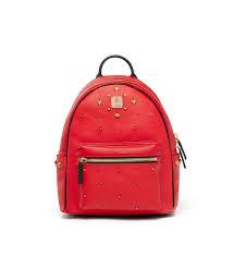 mcm designer mcm cheap bag mcm stark odeon backpack ruby mmk8avp44ru007