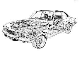 1973 opel manta luxus interieur opel manta b opel manta b interior and dashboard