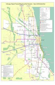 Cta Map Red Line A Vision For Chicago Rail In 2035 Not Mine Though Public