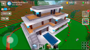 Design Your Own Home Game 3d by Block Craft 3d Mobile Gameplay Modern House Youtube