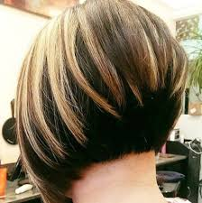 front and back views of chopped hair 50 fabulous classy graduated bob hairstyles for women styles weekly