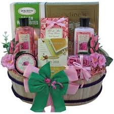 spa gift baskets spa relaxation baskets for less overstock