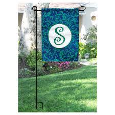 Monogram Garden Flag Flags U0026 Flag Poles Walmart Com