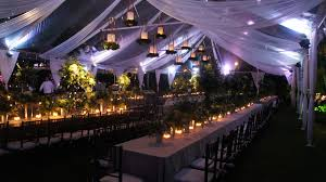 Canopy String Lights by 9 Great Party Tent Lighting Ideas For Outdoor Events