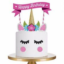 unicorn cake topper unicorn cake topper ebay