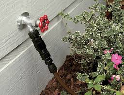 How To Replace A Water Faucet Outside Rain Bird Drip Irrigation Faucet Connection Kit
