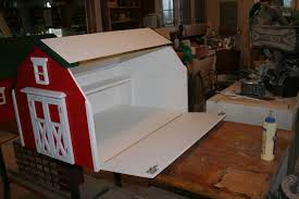 Free Plans For Toy Boxes by Barn Toy Boxes By Justplanejeff Lumberjocks Com Woodworking