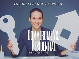 between a residential and commercial realtor