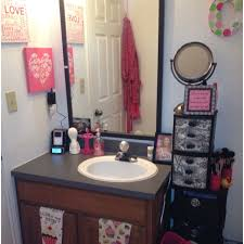 girly bathroom ideas bathroom top college apartment bathroom decorating ideas
