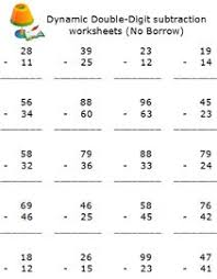 free elementary subtraction math worksheets online math
