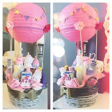 air balloon baby shower gift basket my diy pinterest